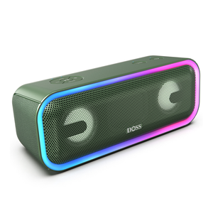 Green DOSS SoundBox Pro Plus - Bluetooth Speaker