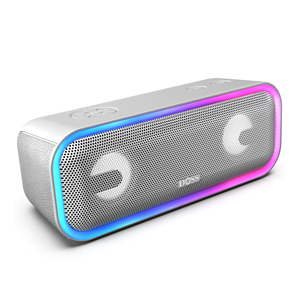 Silver DOSS SoundBox Pro Plus - Bluetooth Speaker