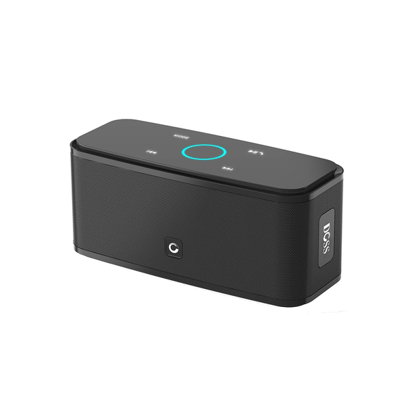 Black DOSS SoundBox - DOSS Bluetooth Speaker