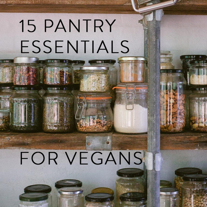 15 Pantry Essentials for Vegans