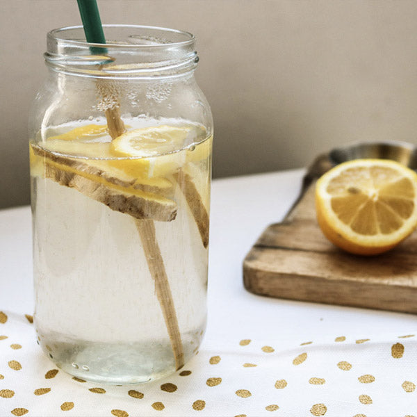 Lemon and Ginger Feel-Good Tonic