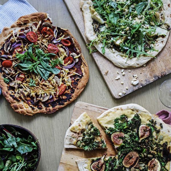 Vegan Pizza - 3 Ways!