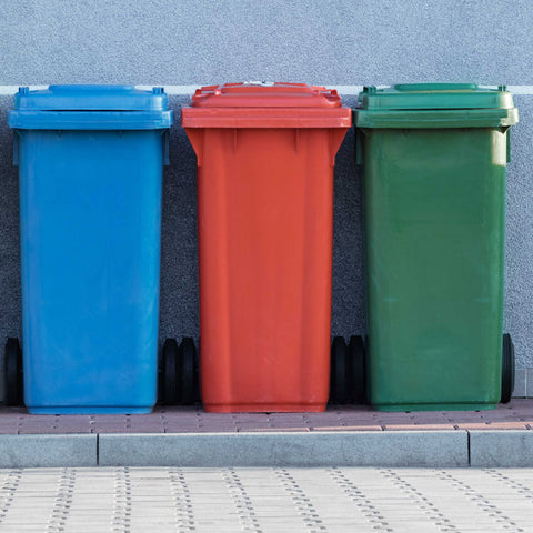 Waste disposal units for each variety