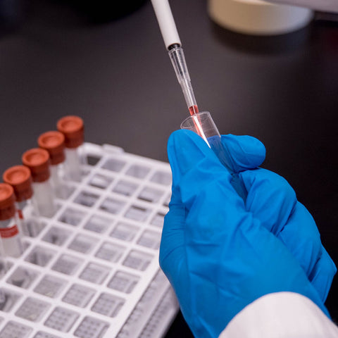Scientific testing of animal-based products