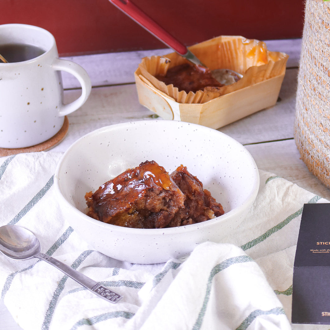 Sticky Toffee & Ginger Pudding