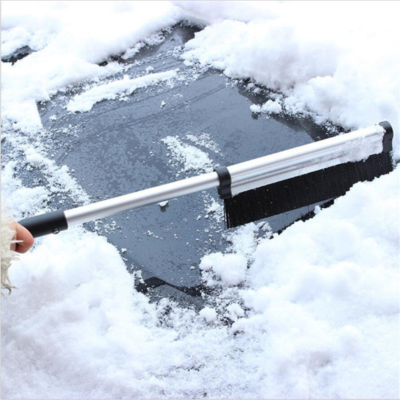 Portable telescopic extension pole handle winter vehicle Brushes Scrapers ice snow Tools for auto car Accessories