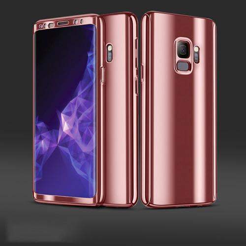 Plating 360¡ã Full Body PC Front+Back Cover Protective Case+HD Film For Samsung Galaxy S9S9 (1)