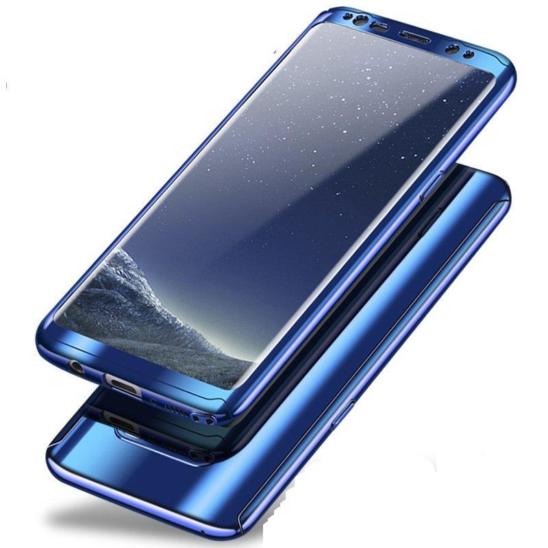 Plating 360° Full Body PC Front Phone Case For Samsung Galaxy Note 8/S8/S8 Plus/S7 Edge/S7