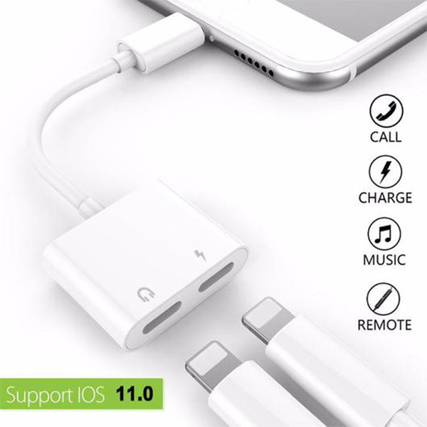 Multi-Function iPhone Audio Adapter