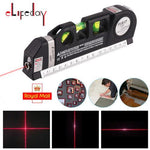 LV-03 Multipurpose Laser Level Laser Measure Line 8ft