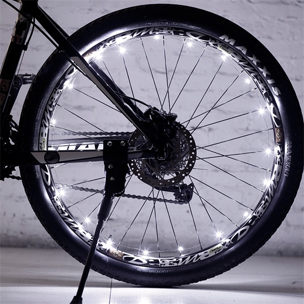 Waterproof LED Bicycle Mountain Bike Tire Light-Outdoors & Sports-White-Romancci.com