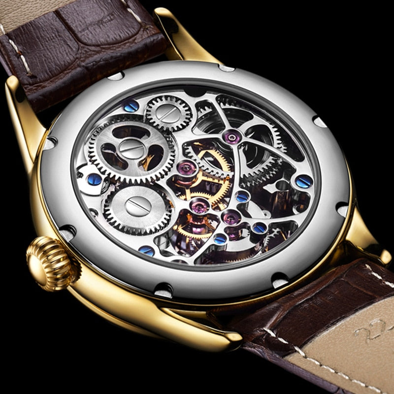 Tourbillon GUANQIN Men watches top brand luxury real Tourbillon clock men Sapphire Hand Wind mechanical watch Relogio Masculino FREE SHIPPING 6-11 DAYS WORLD WIDE