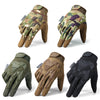 Tactical Military Gloves Army Paintball Shooting Airsoft Combat Bicycle Rubber Protective Anti-Skid Full Finger Glove Men Women