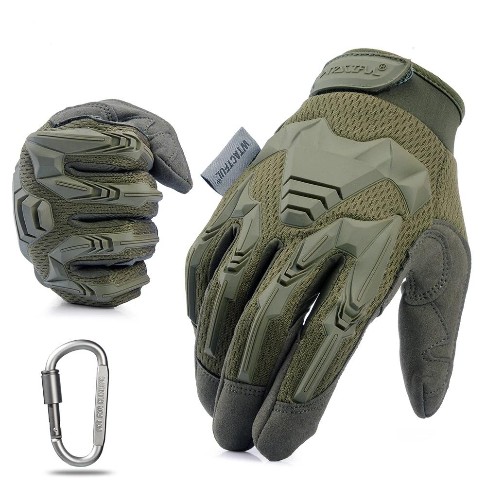 WO/_ TACTICAL MILITARY WEAR RESISTANT FINGERS GLOVES FOR SHOOTING BICYCLE HIKING
