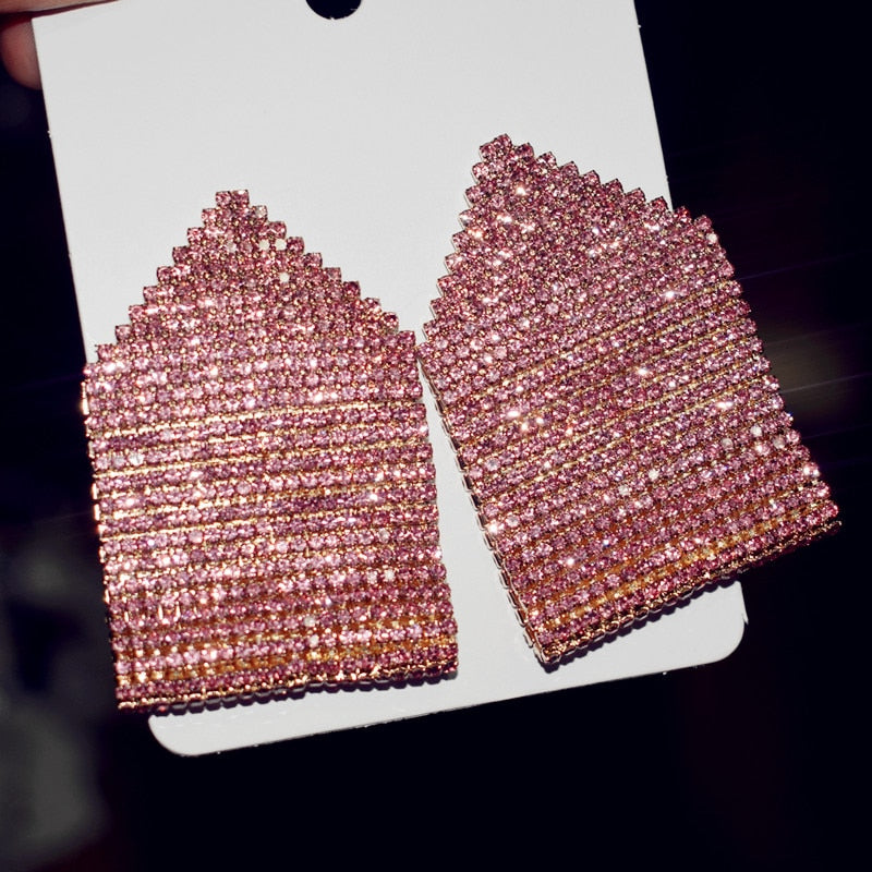 New Shiny Rhinestone Gems Fashion Women