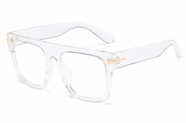Square Glasses Frames Men Women Optical Fashion Computer Glasses