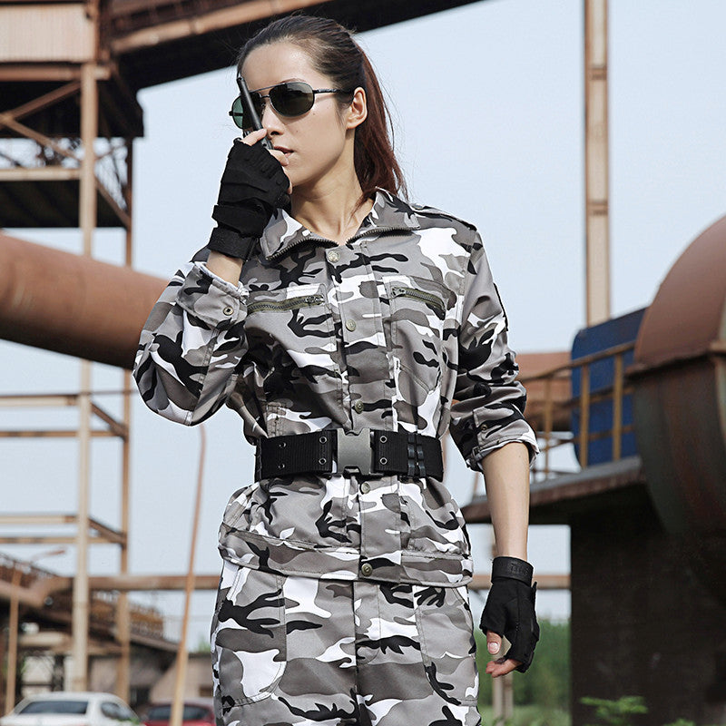 Outdoor Snow Camouflage Hunting Clothes For Women Men Military Clothing Tactical Multicam Camo