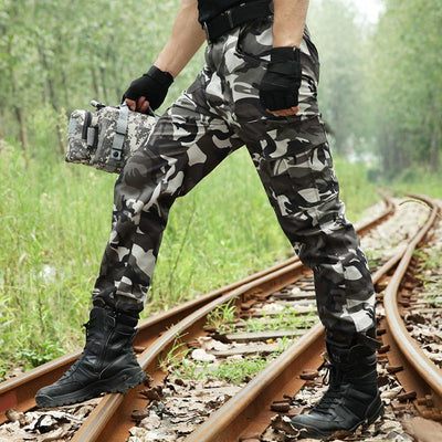 Outdoor Camouflage Hunting Fishing Pants Men Pantalon Multicam Airsoft Climbing Pants