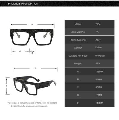 Sunglasses Brand Designer Oversized Stars Sun glasses Unisex Gradient oculos de sol for men
