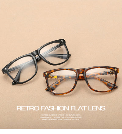 Vintage Eyeglasses Men Women Eyeglasses Optical For Myopia Eyeglasses Frame Plain Retro Eye Glasses Frame oculos de grau A0111