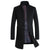 Coat Men Winter Long Thick Woolen Coats Mens Stand Collar Casual Jackets Erkek Mont Palto Peacoat Overcoat Wool Parka Coats