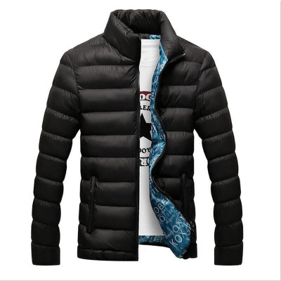 Thick Jacket Men Autumn&Winter Men's Cotton Blend Mens Bomber Jacket and Coats Casual Thick Outwear Casaco Masculino 4XL