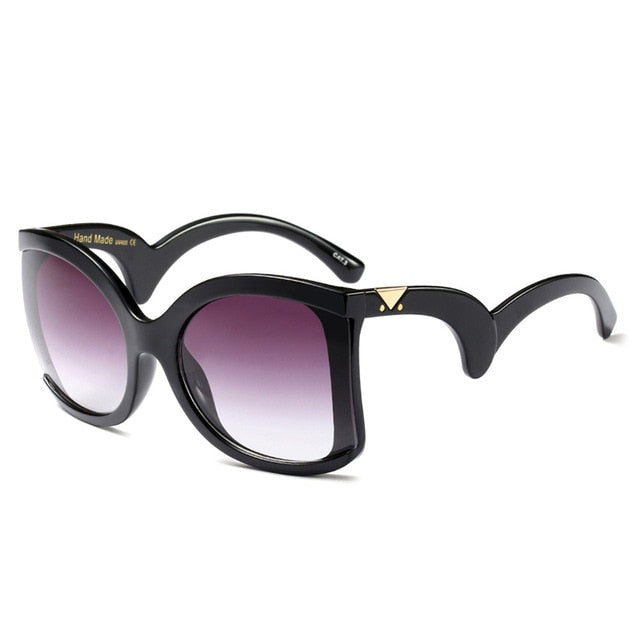 Sunglasses Women Luxury Brand Designer Oversized Sun Glasses Ladies UV400 For Female Big Frame