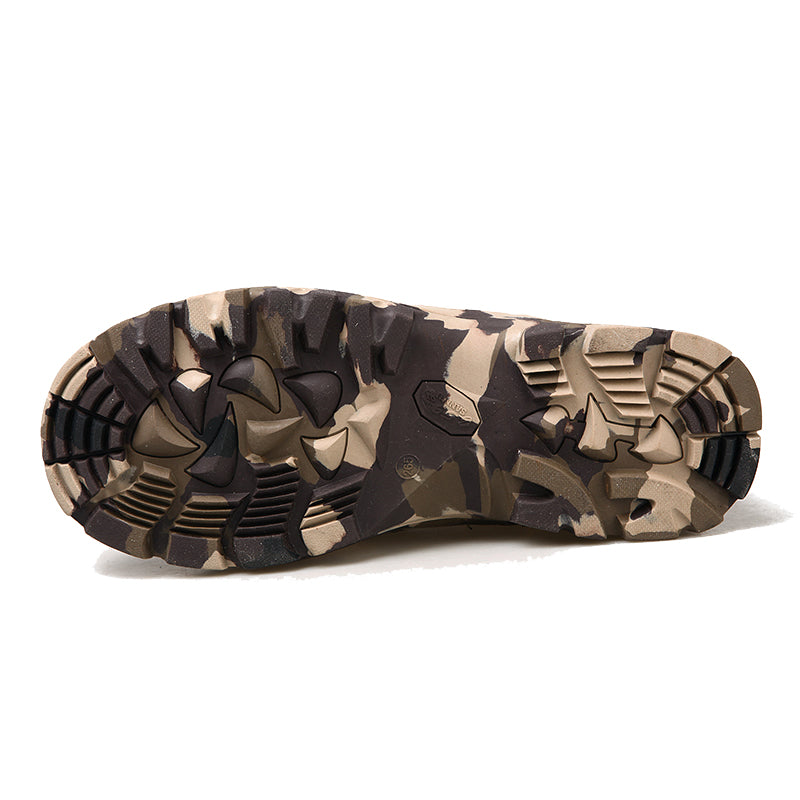 b5abc6a1433 Men Military Army Boots Leather Waterproof Camouflage Printed Special  Forces Desert hunting Shoes Combat Tactical Ankle Boot