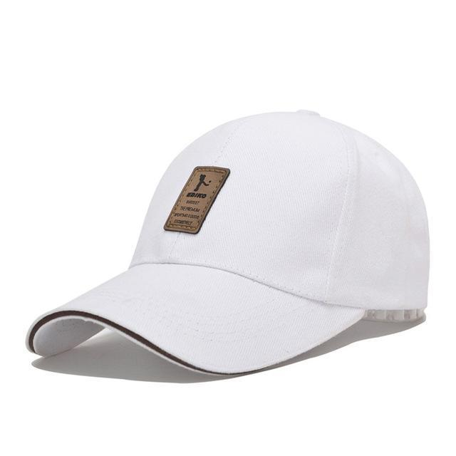 1Piece Baseball Cap Men s Adjustable Cap Casual leisure hats Solid Color  Fashion Snapback Summer Fall hat a8f726a5c3e