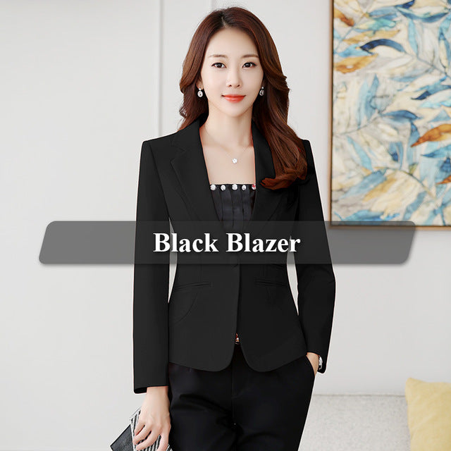 23c673c546 Lenshin Yellow Blazer Straight and Smooth Jacket Office Lady Style Coat  Business Formal Wear Candy Color