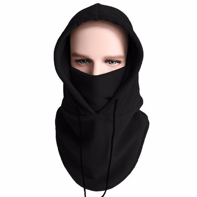 Fishing Hats Fleece Hood Windproof Ski Mask Full Face Mask Cold Weather Motorcycle Neck Warmer Thermal Running Hat