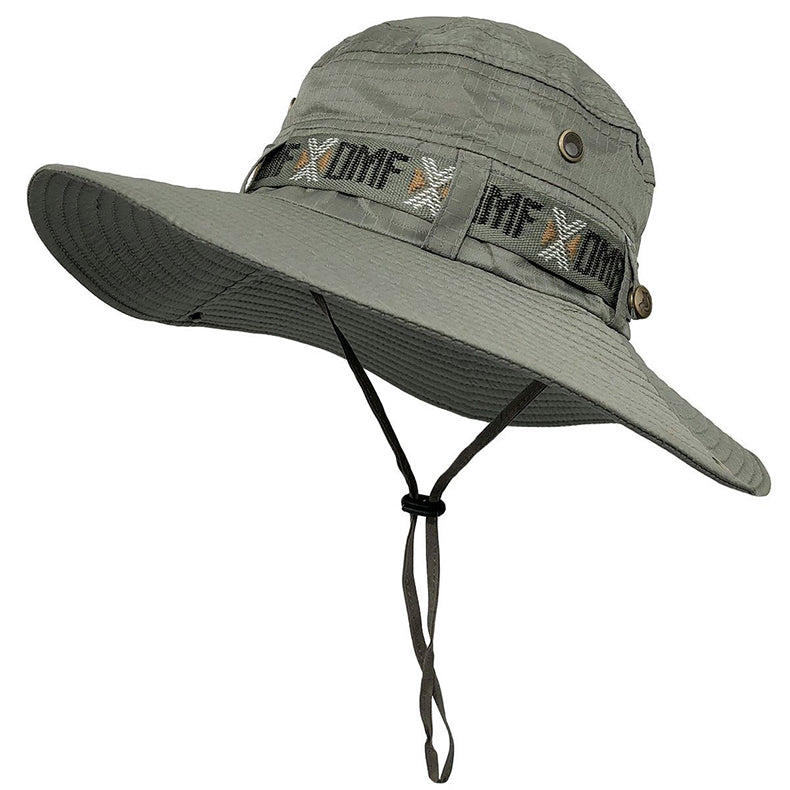 TACVASEN Army Men Tactical Sniper Hats Sun Boonie Hat Summer UV Protection Cap Men's Military Fish Hunt Hats TD-YWYG-001