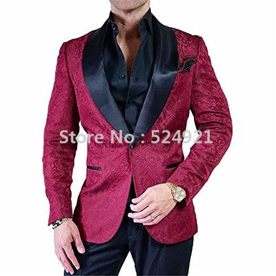 New Arrival Groomsmen Ivory Groom Tuxedos Shawl Brown Lapel Men Suits Wedding/Prom Best Man Blazer ( Jacket+Pants+Tie ) C265
