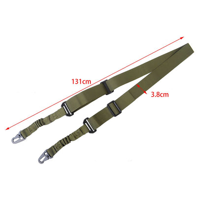 Tactical 2 Point Gun Sling Shoulder Strap Outdoor Rifle Sling With QD Metal Buckle Shotgun Gun Belt Hunting Gun Accessories