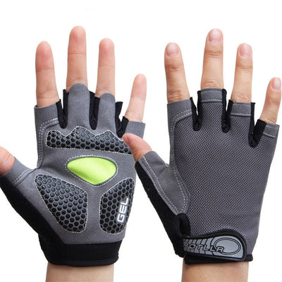 Men & Women's Sports 3D Gel Padded Anti-Slip Gloves Gym Fitness Weight Lifting Body Building Exercise Training Workout Crossfit