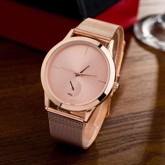 Ultra Thin Strap Luxury Unisex Watch free shipping 3-7 day in US&Canada