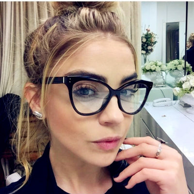Kottdo Fashion Brand Cat Eye Glasses Frame Sexy Women Prescription Eyeglasses Retro Eyewear Vintage Optical Clear Glasses Oculos