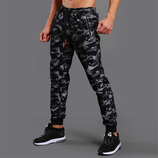 2018 Camouflage Jogging Pants Men Sports Leggings Fitness Tights Gym Jogger Bodybuilding Sweatpants Sport Running Pants Trousers