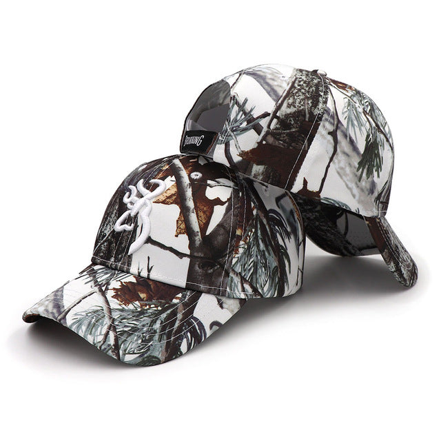 d62c1930 KOEP Browning Camo Baseball Cap Fishing Caps Men Outdoor Hunting Camouflage  Jungle Hat Airsoft Tactical Hiking
