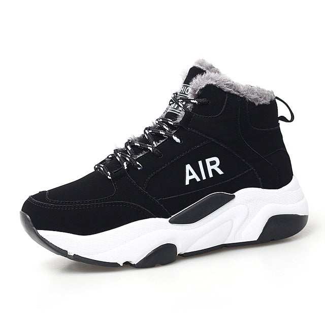 Snow Running Shoes >> Surom Women Winter Snow Running Shoes Breathable Plush Warm Sport