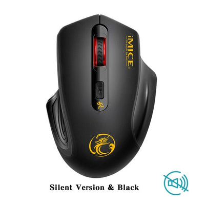 iMice Wireless Mouse Silent Computer Mouse Wireless USB 3.0 Receiver Mause Optical Ergonomic Mice Noiseless Button For PC Laptop