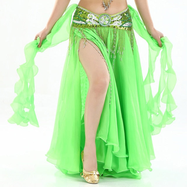 ae58b6f36a 2019 New Belly Dancing Clothing Long Maxi Skirts lady belly dance skirts  Women Sexy Oriental Belly
