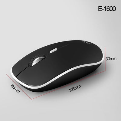 Wireless Mouse USB Computer Mouse Mini Ergonomic Mouse Optical Silent PC Mice 2.4GHz Power Saving Office Mause for Laptop