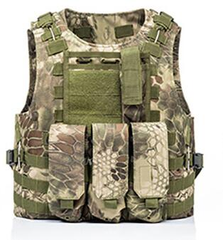 USMC Airsoft Military Tactical Vest Molle Combat Assault Plate Carrier Tactical Vest 7 Colors CS Outdoor Clothing Hunting Vest