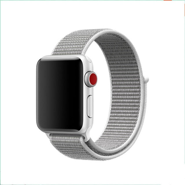 CRESTED Sport Loop strap For Apple Watch band 4 42mm 38mm 3 iwatch band 44mm 40mm correa Nylon wrist bracelet watch Accessories
