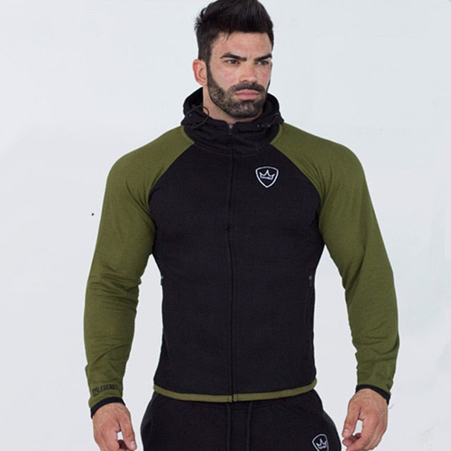 Men Tops And Pants Sets Casual Fashion Sportswear Hoodies Sweatshirt+Sweatpants 2pcs/Set Male Fitness Joggers Tracksuit Clothing
