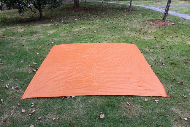 Thick Waterproof, UV Resistant, Rot, Rip and Tear Proof Tarpaulin with Grommets and Reinforced Edges Picnic Blanket Waterproof