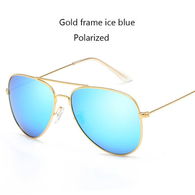 Polarized Sunglasses Women Men Driving Mirror Pilot Sun Glasses Women Men Brand Designer Unisex