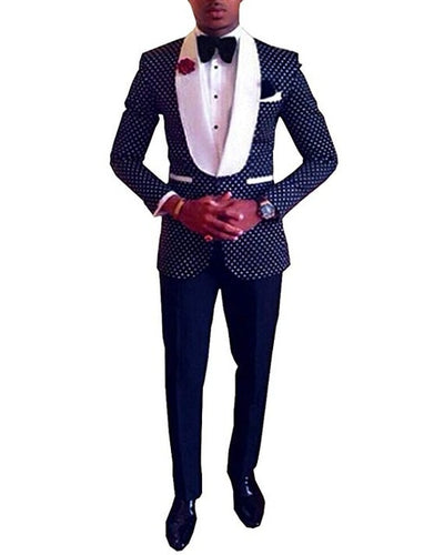Groomsmen Champagne Groom Tuxedos Newest Men Suits Notch Black Lapel Best Man 2 pieces Bridegroom Suit ( Jacket+Pants+Tie ) C585