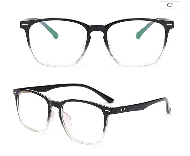TR90 Glasses Frame Clear Fashion Myopia Glasses Frame Men Optical Eyeglasses Frame Women Prescription Glasses 08